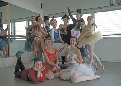 "The cast of ""Snow WhiteBallet"" is shown. The West Hawaii Dance Theatre and Academy production comes to Kahilu Theatre Sunday. Photos by Charlotte Kim/Special to West Hawaii Today"