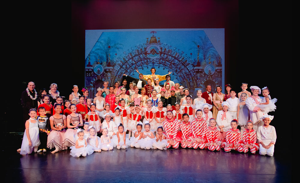 The 2016 Nutcracker Ballet at Kahilu Theatre